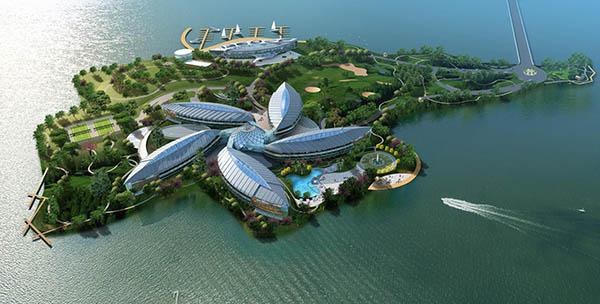 上海滴水湖皇冠假日